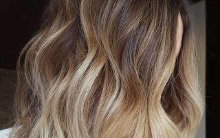 НОВАЯ окраска волос — ванильный молочный коктейль. Ombre, что впечатляет!
