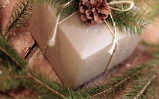 28 идей для упаковки Новогодние подарки