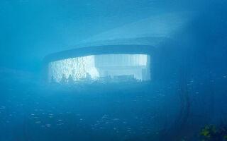 Будет построен первый подводный ресторан в Европе. Ее дизайн впечатляет