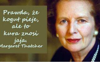 20 железных цитат Маргарет Тэтчер