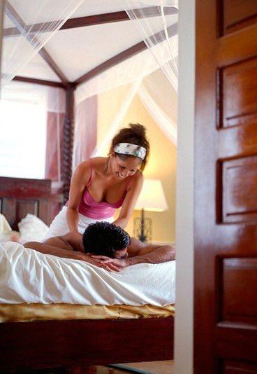 Свадебные сексуальные игры в постели